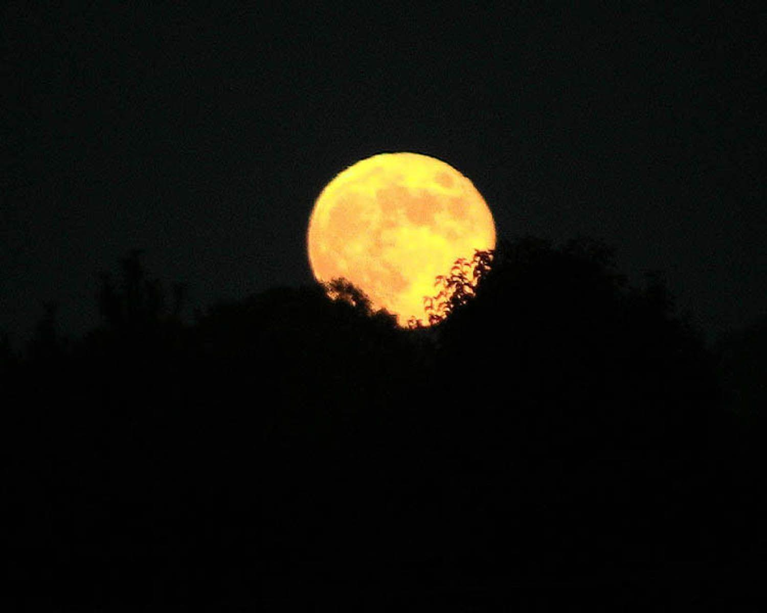 A rare harvest moon will dazzle the skies Friday the 13th