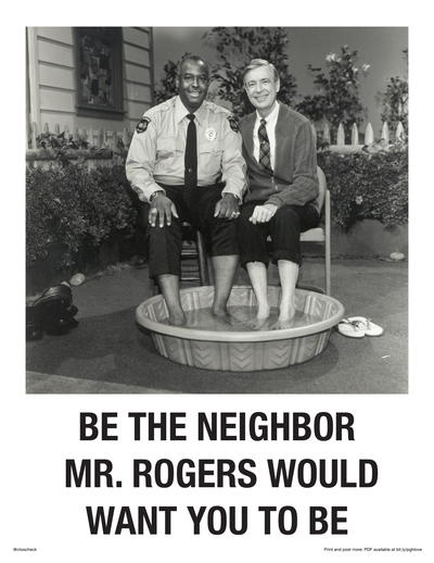 Posters Around City Ask Mayor To Make Won T You Be My Neighbor Pittsburgh S Official Song 90 5 Wesa