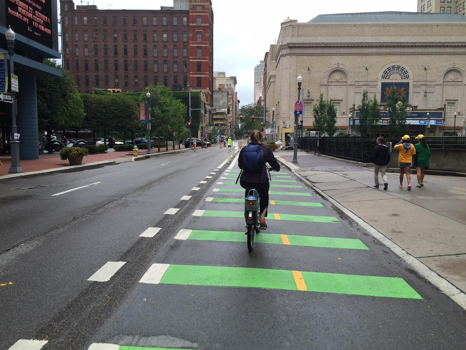 City Continues To Expand Cycling Infrastructure | 90 5 WESA