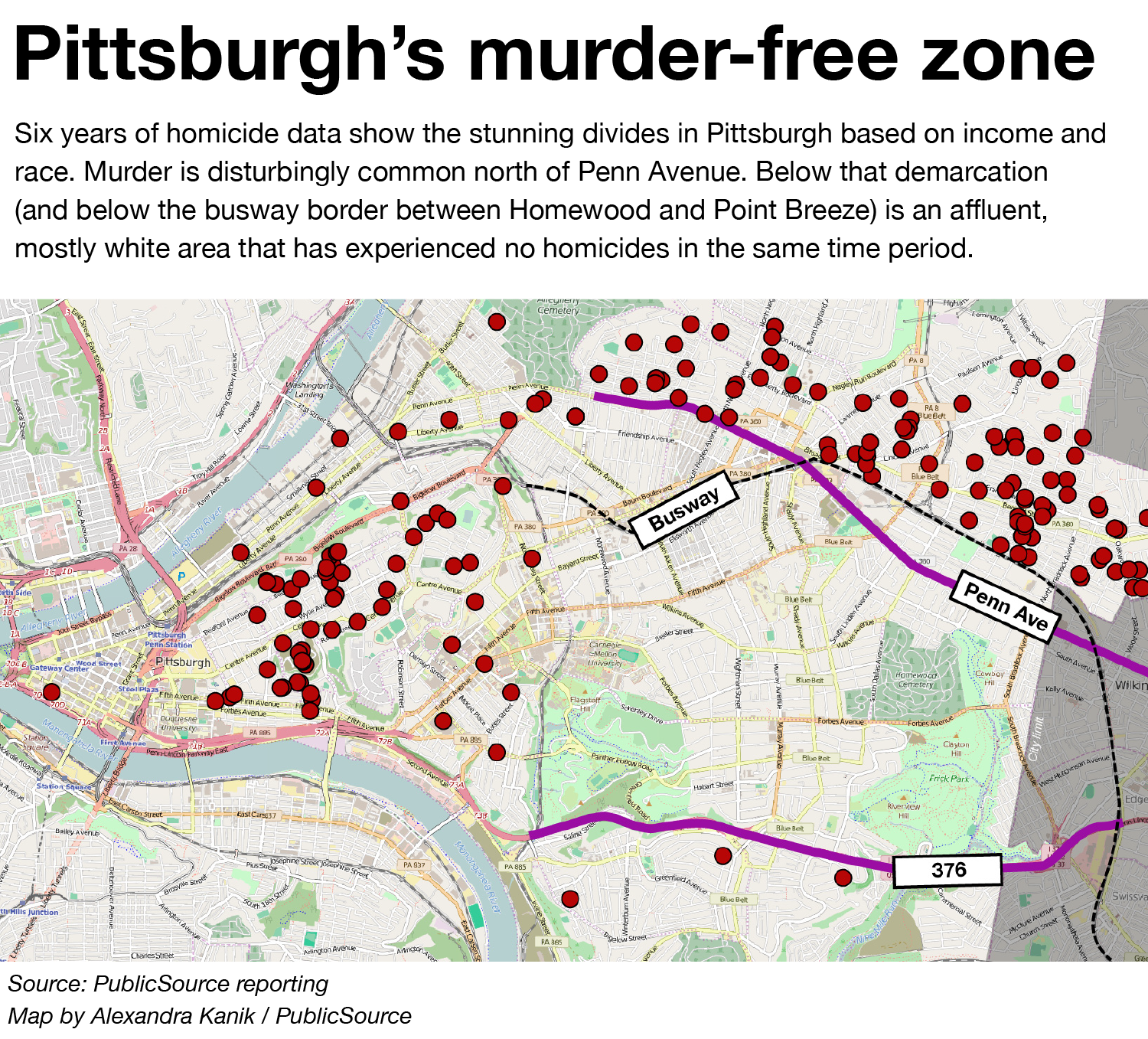 In Pittsburgh, Neighborhood Violence Lives Next Door To Prosperity on pittsburgh bus map, southside pittsburgh map, pittsburgh streetcar map, north park pittsburgh map, north shore t station, north park pavilions pittsburgh, ccac allegheny campus map, north hills pittsburgh neighborhood map, north pittsburgh pa map, heinz field parking lot map, northside pittsburgh map, north shore pittsburgh map, pittsburgh t map, pittsburgh zone map, schenley park map, pennsylvania national parks map, ottawa county ohio map, pittsburgh pa subway map, north park trails pittsburgh, moraine state park trail map,