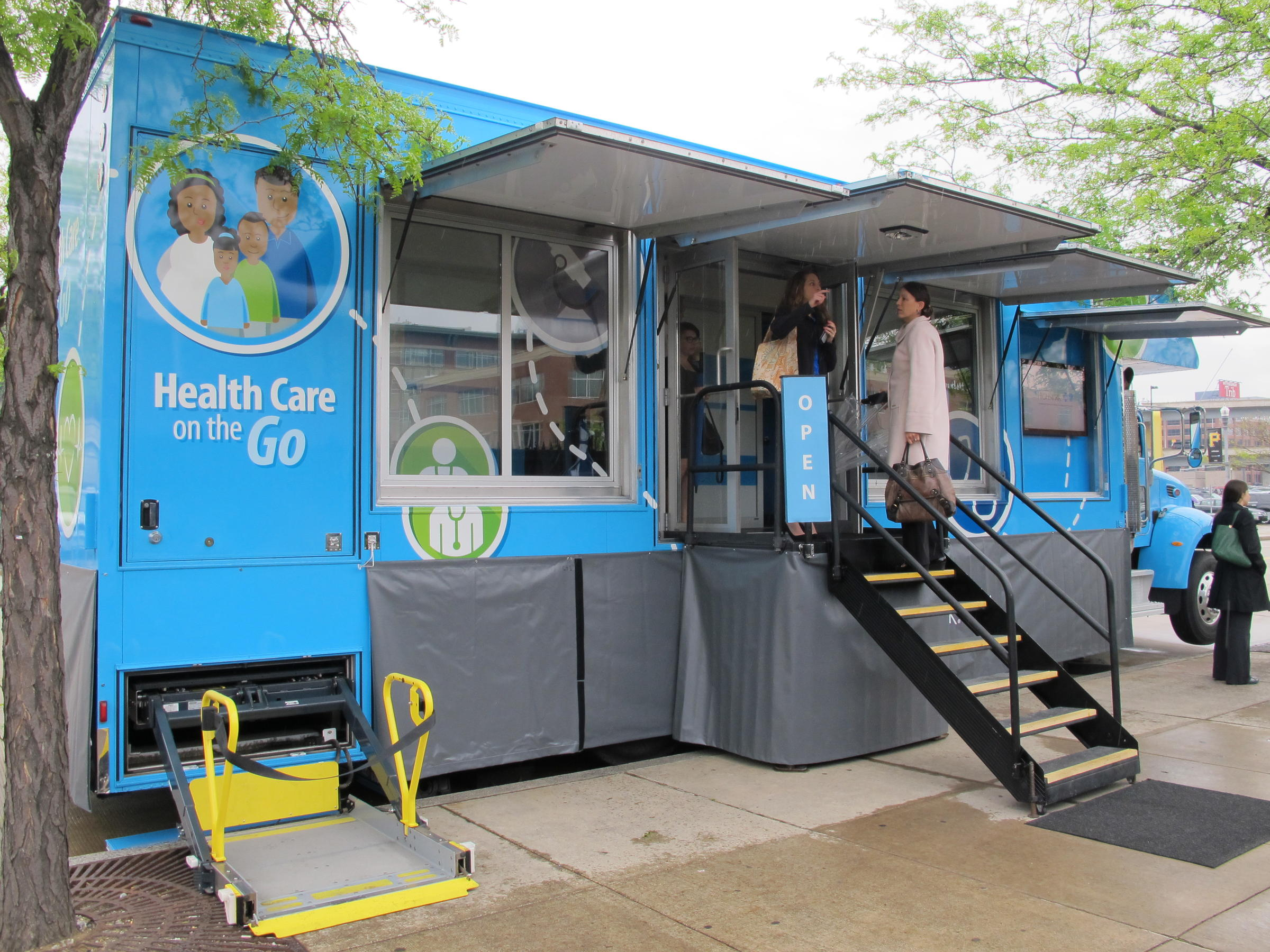 A Trip To The Doctor Takes New Meaning With Mobile Health Clinic