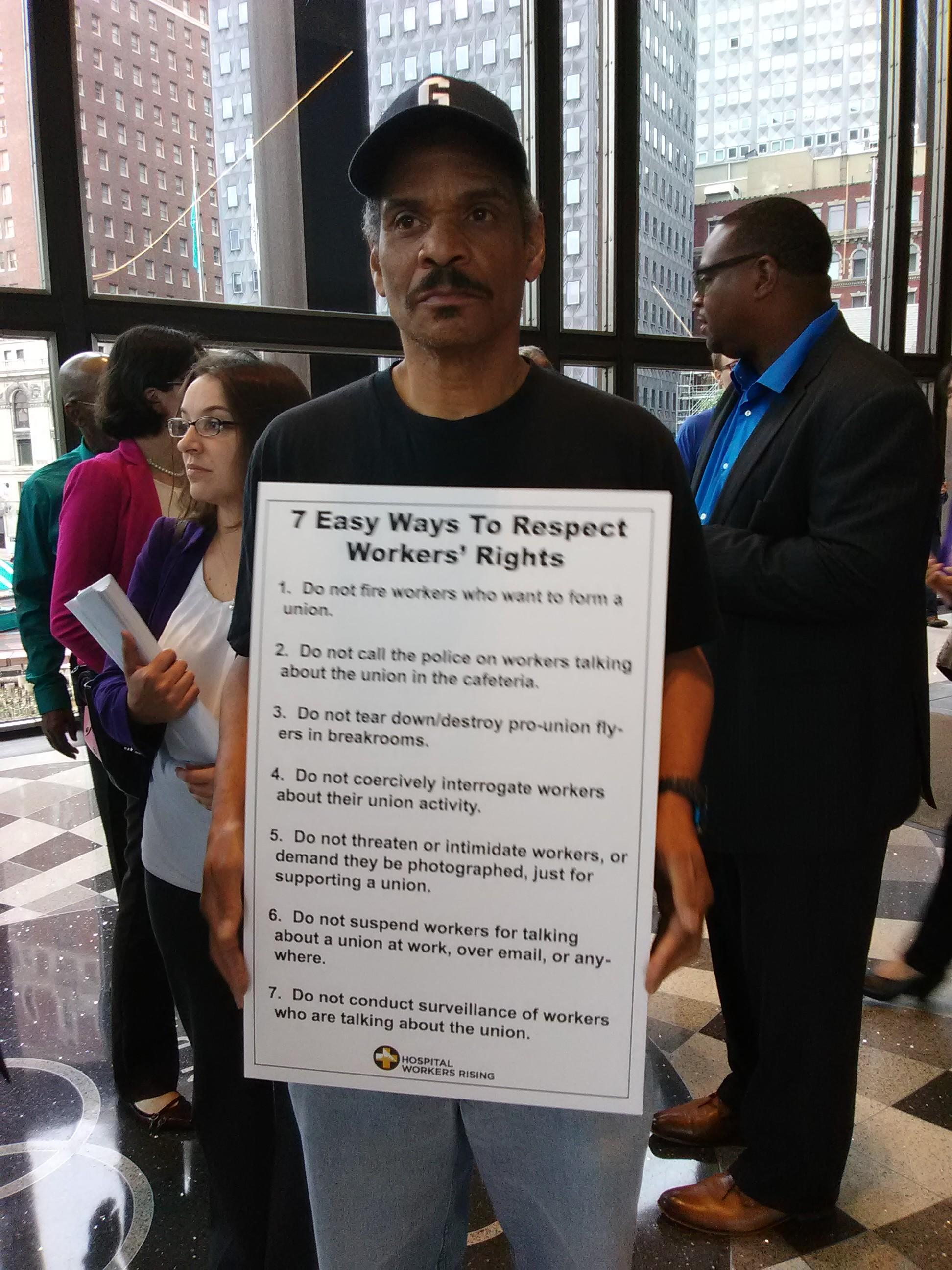 Fear And Intimidation: UPMC Workers Rally To Highlight