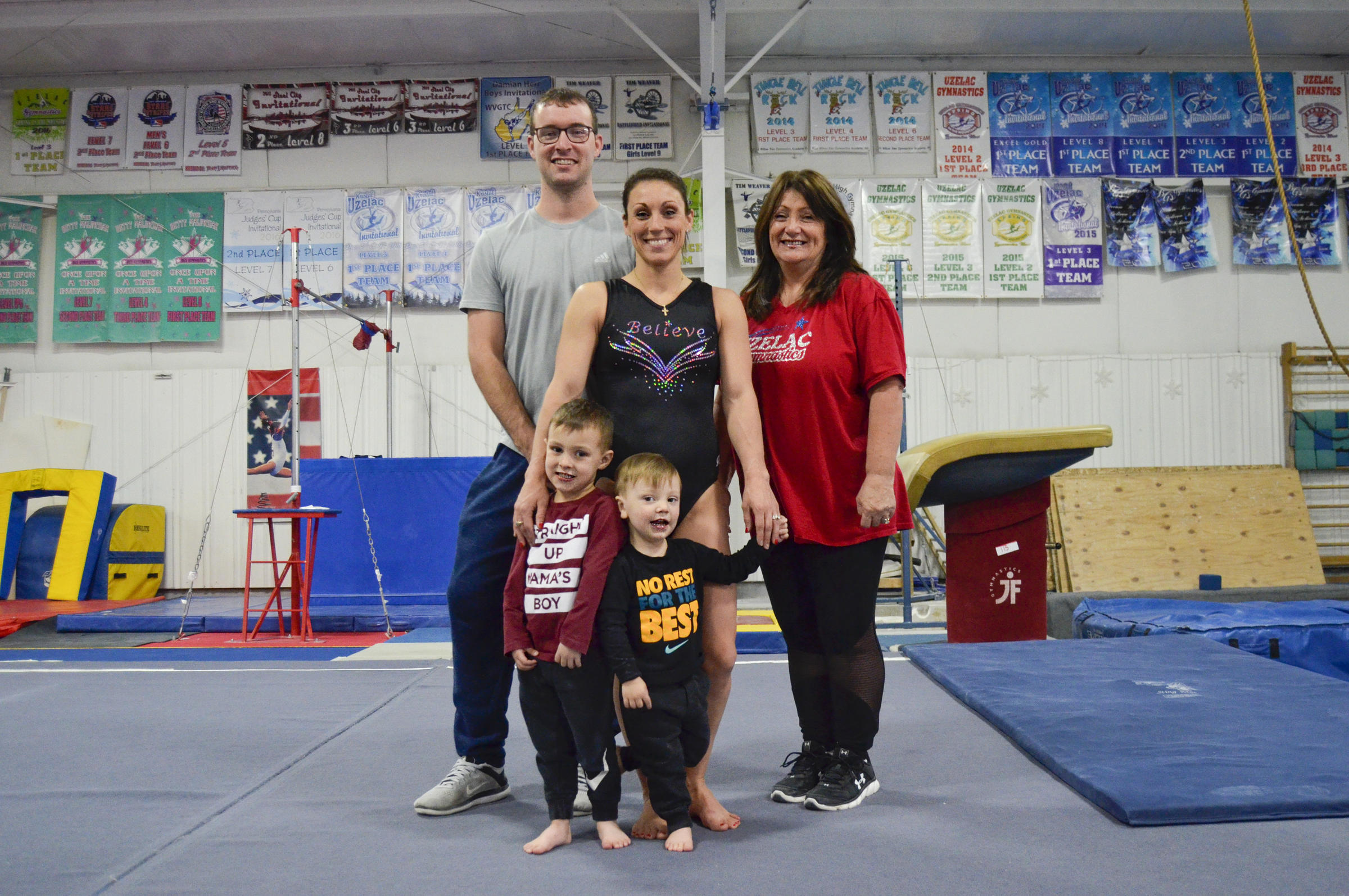 32-Year-Old Mom Launches Comeback To Elite Gymnastics | 90 5
