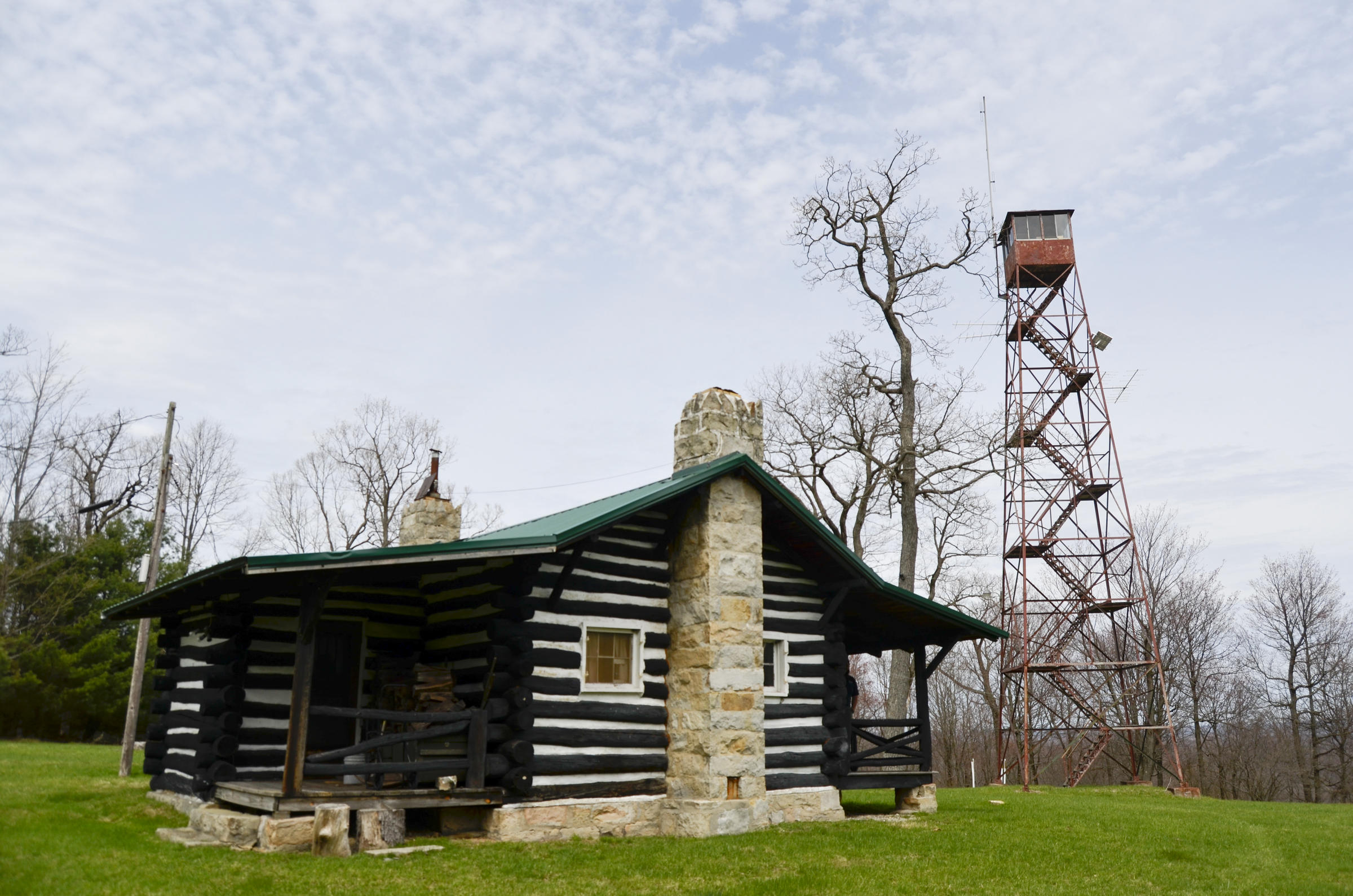 With New Lookout Towers Pa Goes Old School To Detect