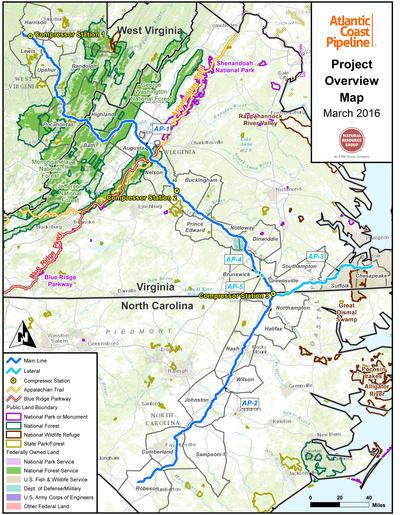 Atlantic Coast Pipeline Revised, Could Open Late 2018   WFAE