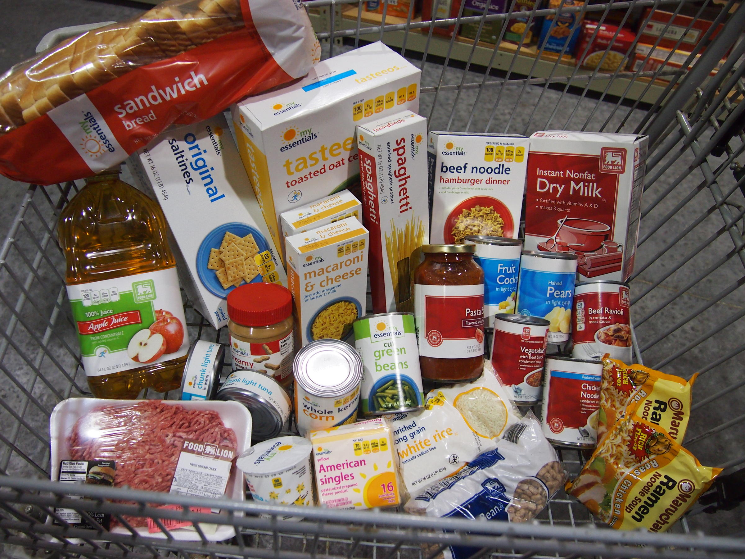 Food Stamp Cuts Are Latest Problem For NC Families, Food