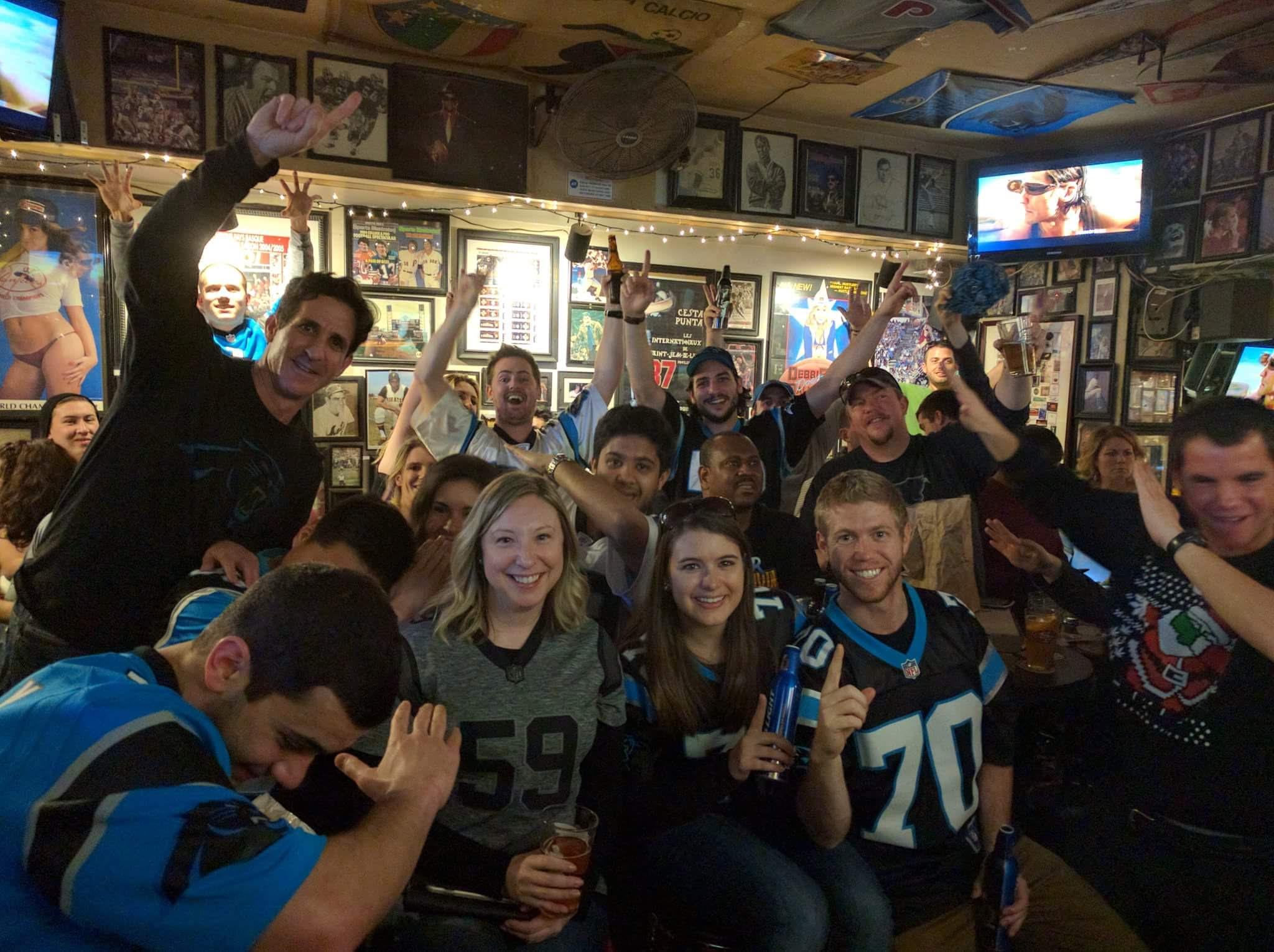 Image result for panthers fans at greens