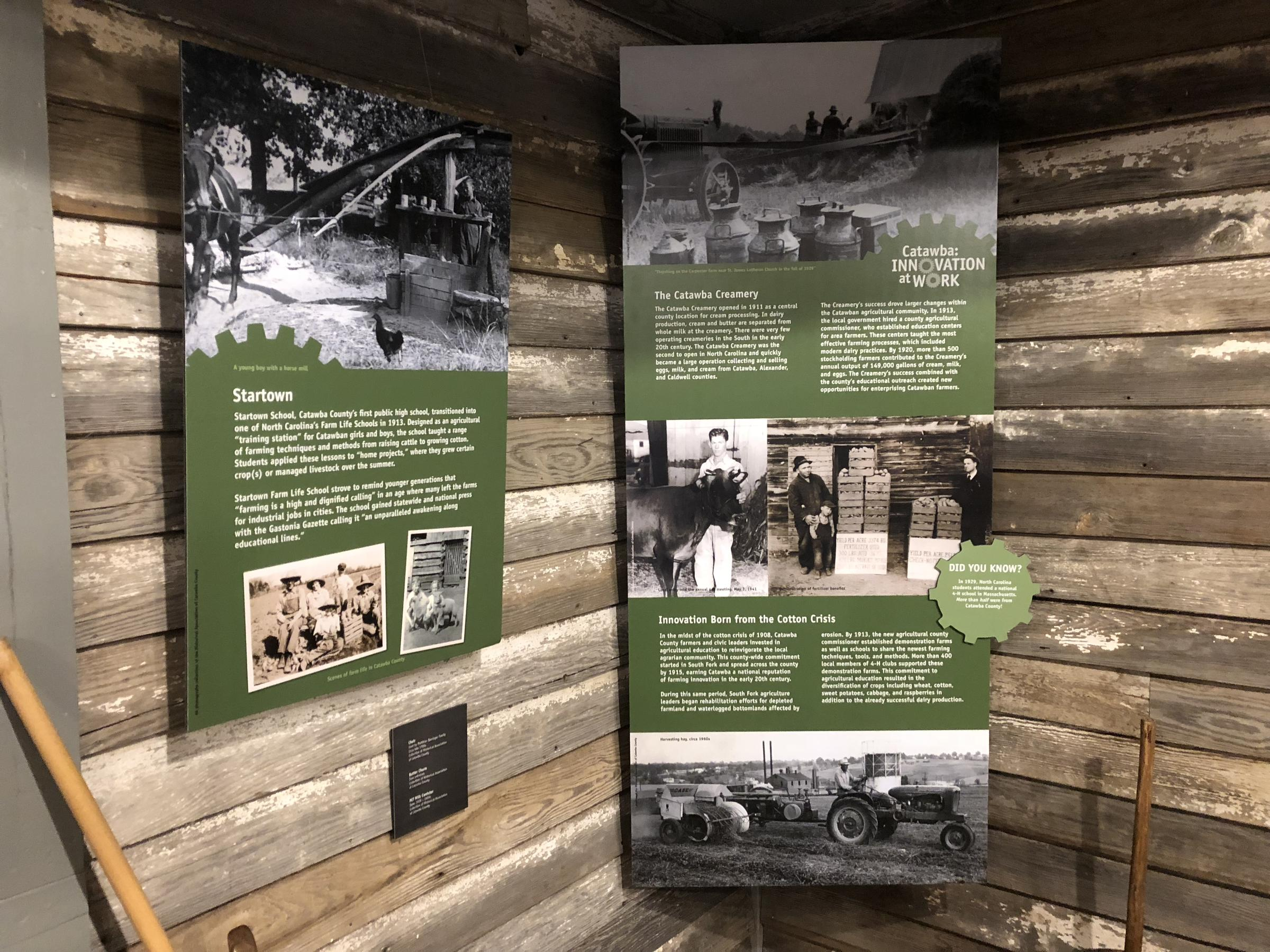 Catawba County Hosts 'The Way We Worked' Smithsonian Exhibit