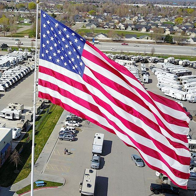 Giant American Flag In Statesville Can Keep Flying Wfae