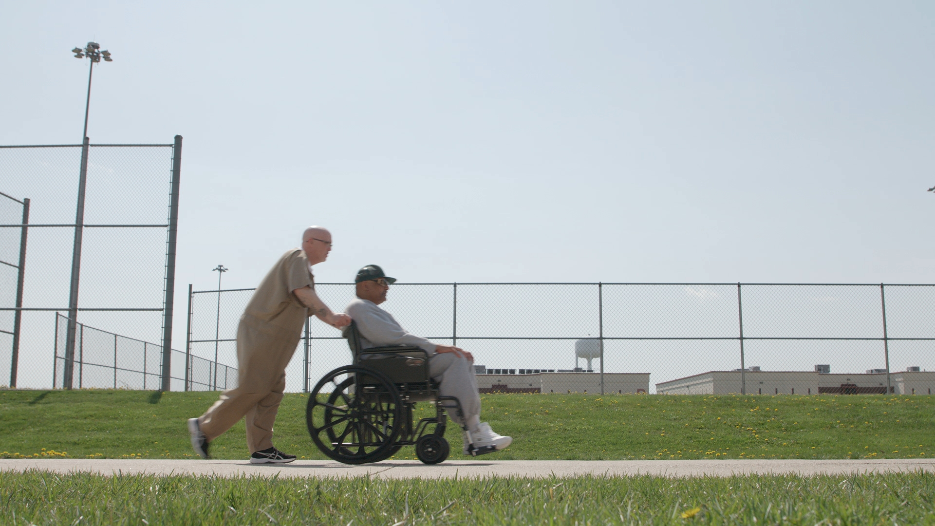 Inmates at Wabash Valley Correctional Institution are taking care of other aging prisoners.