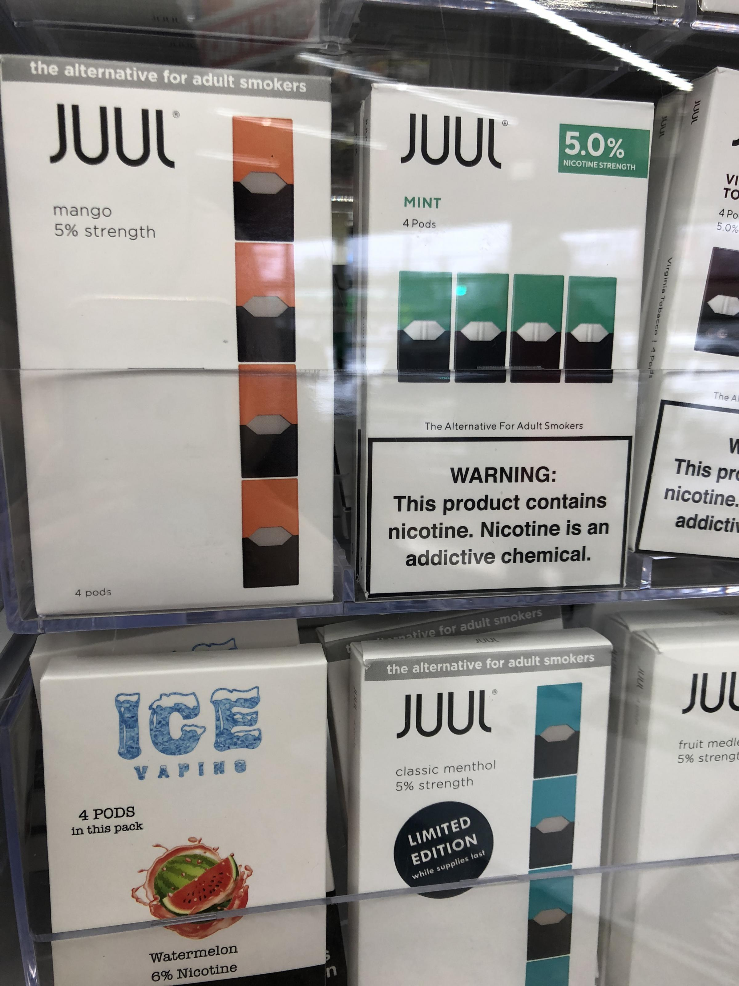 JUUL E-cigarettes Are Favorites Of Teens, And That's A Problem