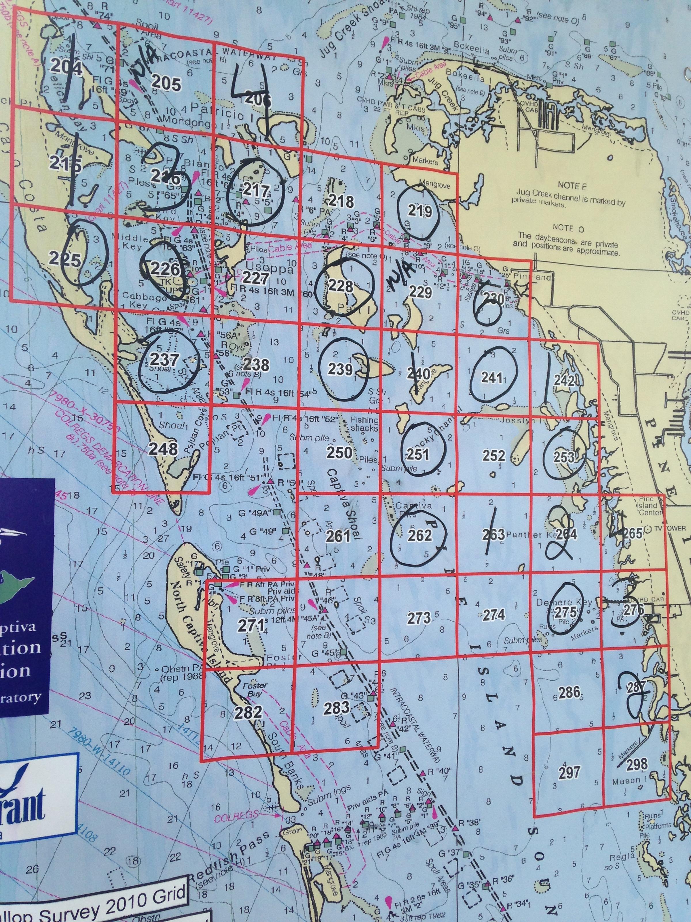 Pine Island Sound Fishing Map - Image Of Fishing ...