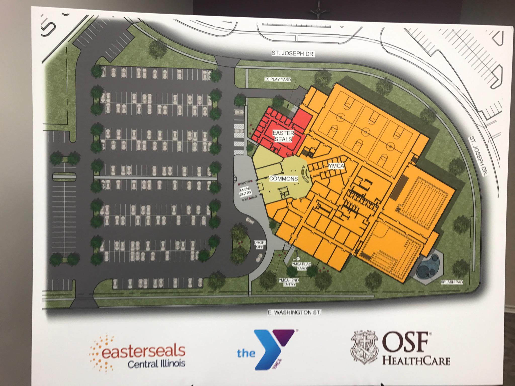 OSF Project Creates New East-Side Home For YMCA, Easterseals ... on