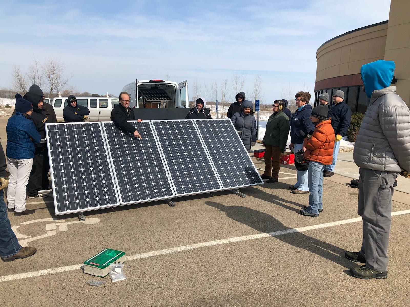 Programs Train Workers To Meet Demand For Solar Installers