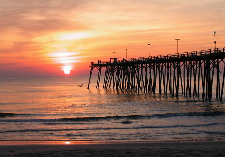Pier At Kure Beach Visit Nc