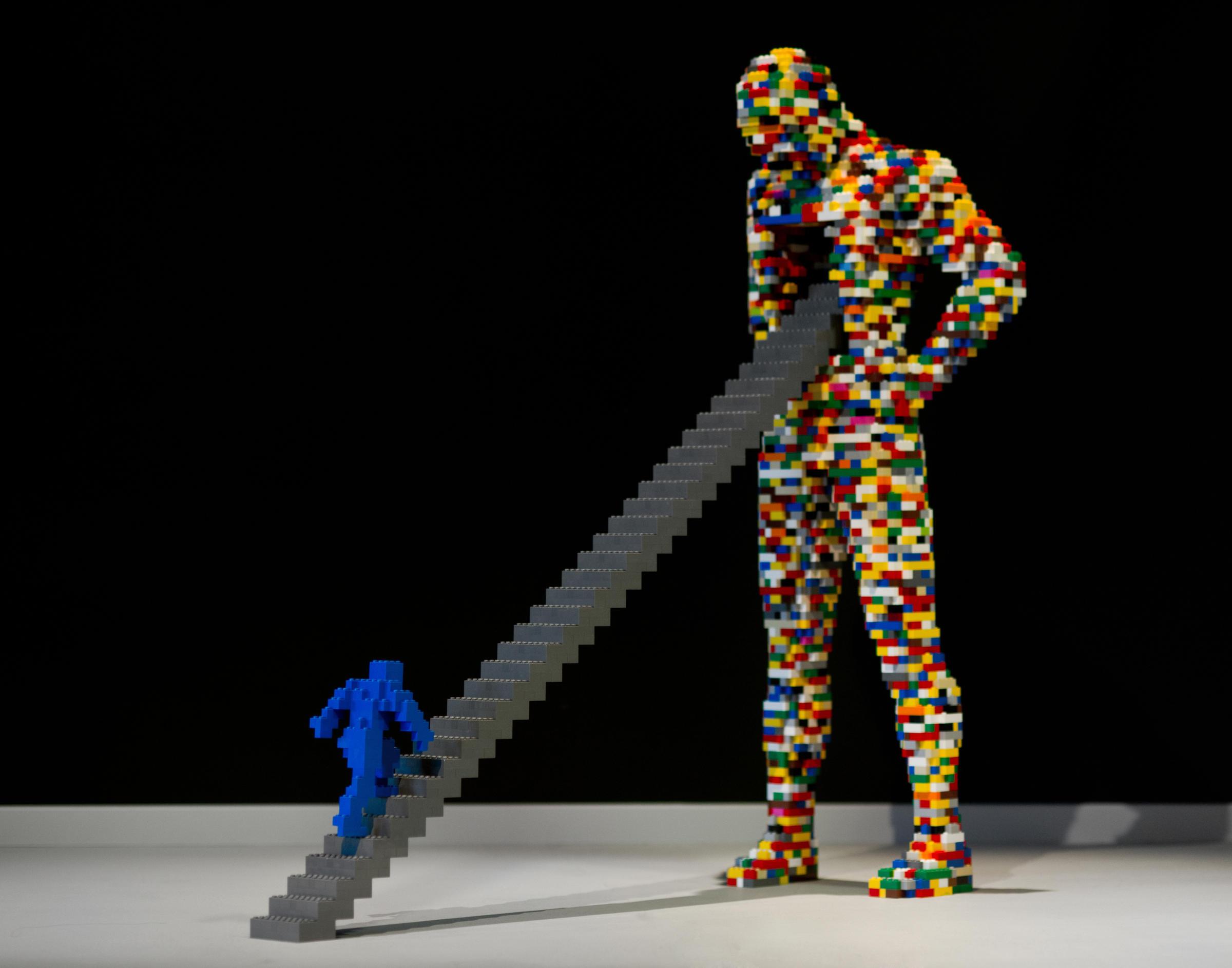 Global Tour Of Nathan Sawaya S Lego Sculptures In Myrtle Beach Until September