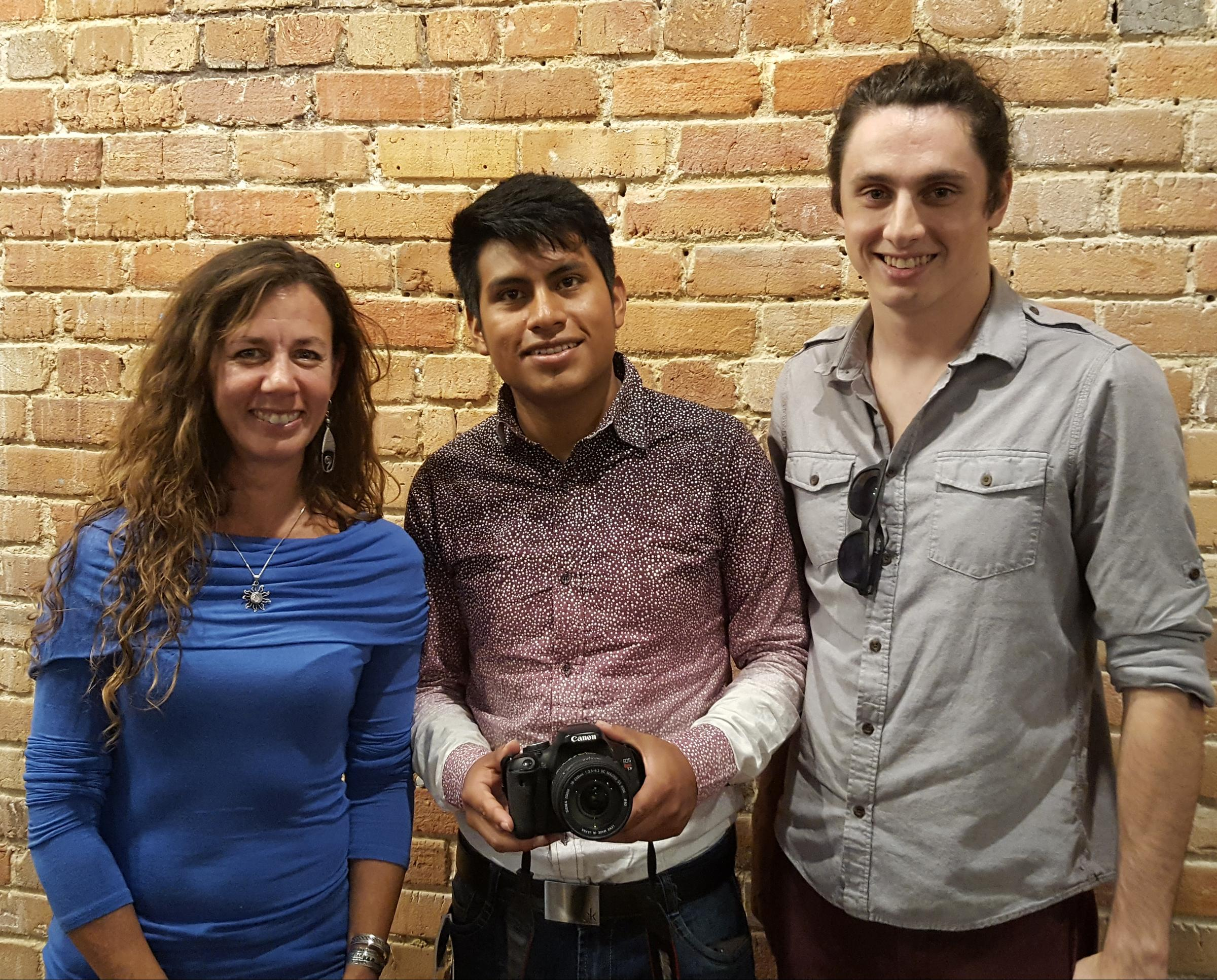 Communique: Meet Mayan & Lumbee Youth Documentarians | Sunday @ Art