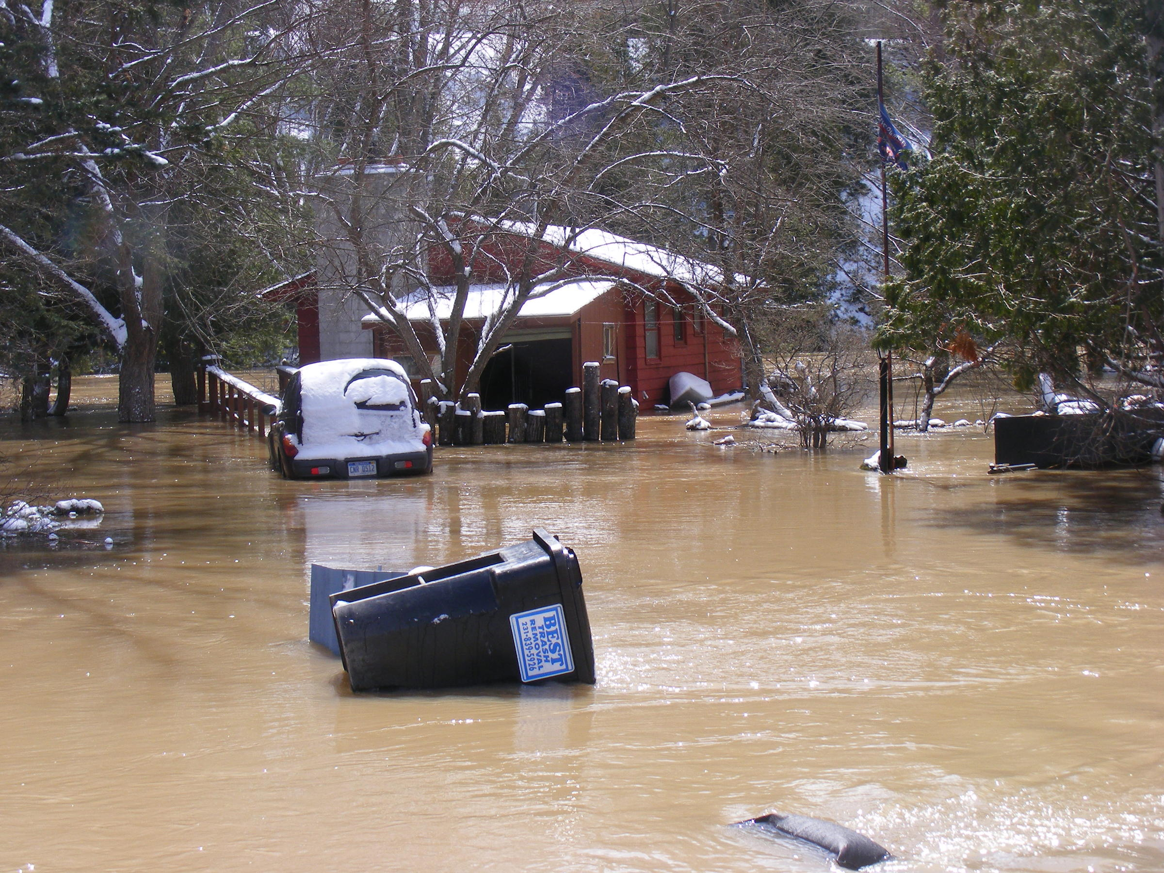 Flooding Subsides Up North | Interlochen