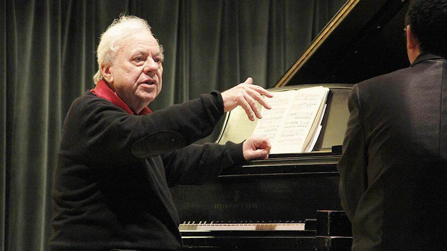 Finding Beethoven: Richard Goode in Studio A   Interlochen