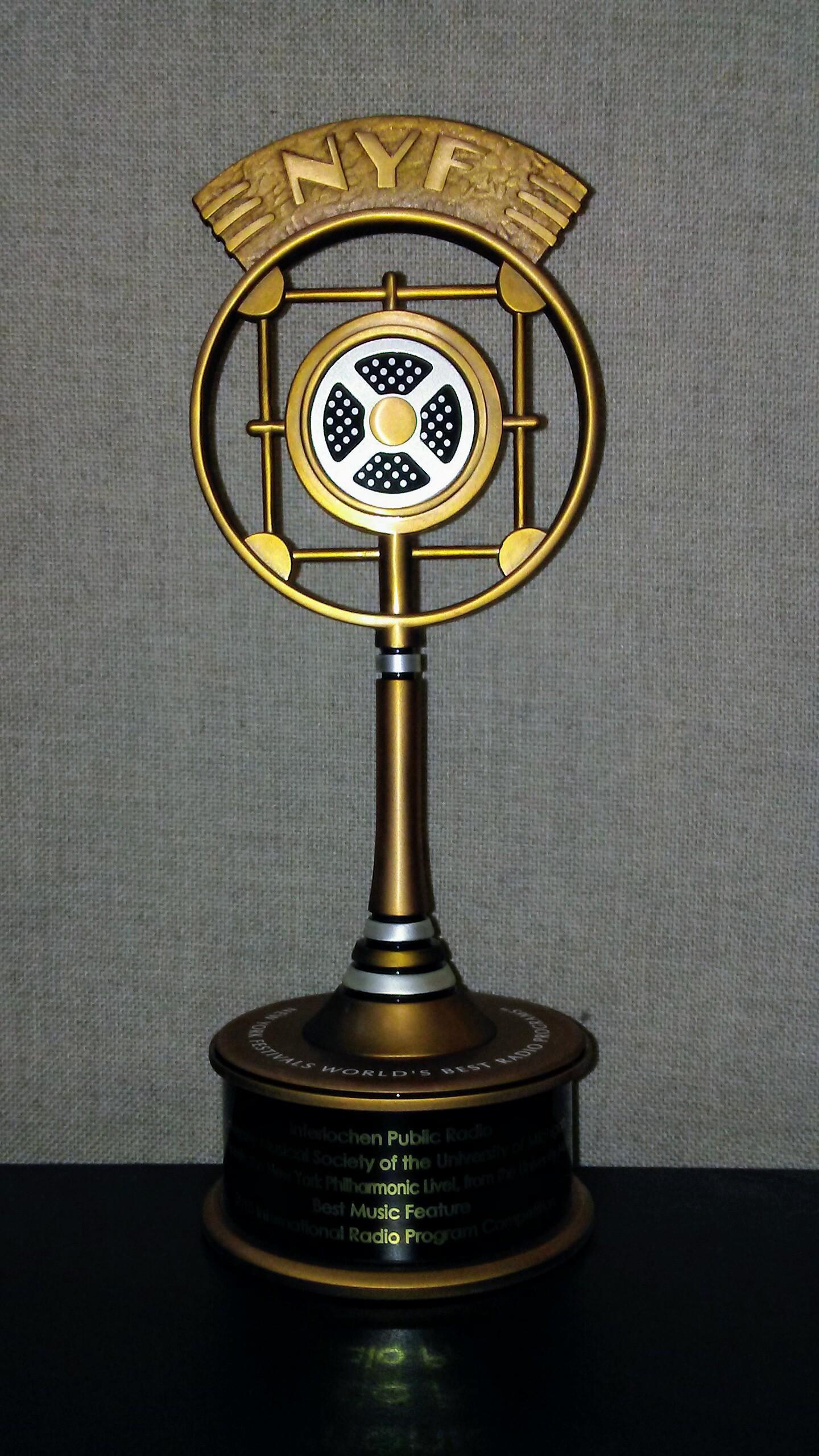 """Interlochen Public Radio wins """"Best Music Feature"""" in"""