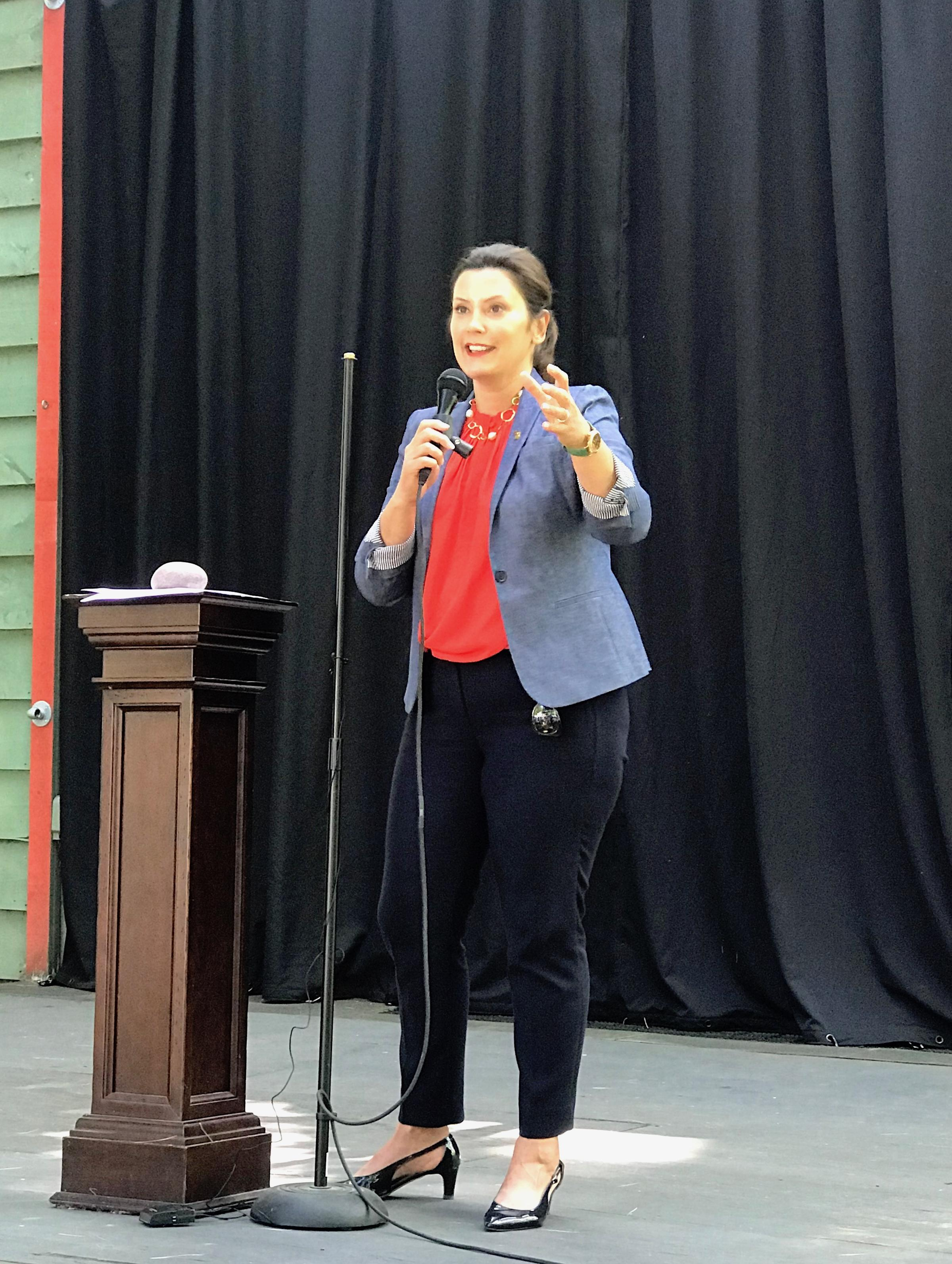 Whitmer Outlines Goals For Great Lakes Interlochen