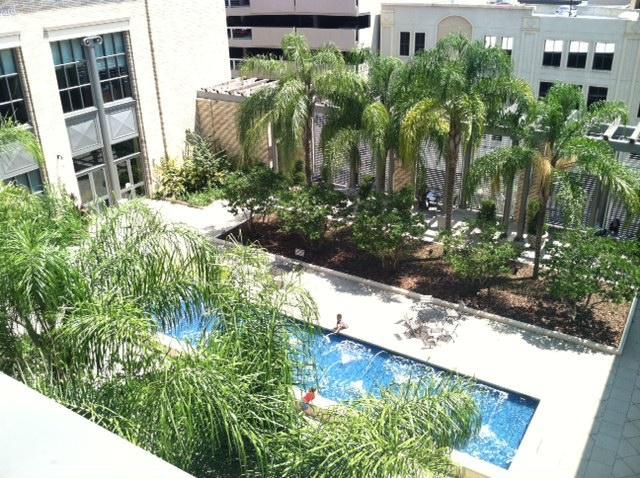 The Betsy Lovett Courtyard At Jacksonville S Main Library