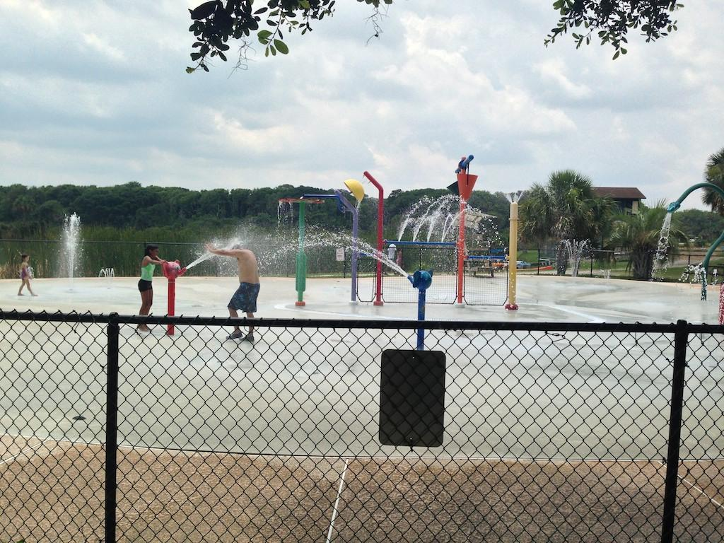 Pas And Children Can Enjoy The Splash Park From Memorial Day To Labor