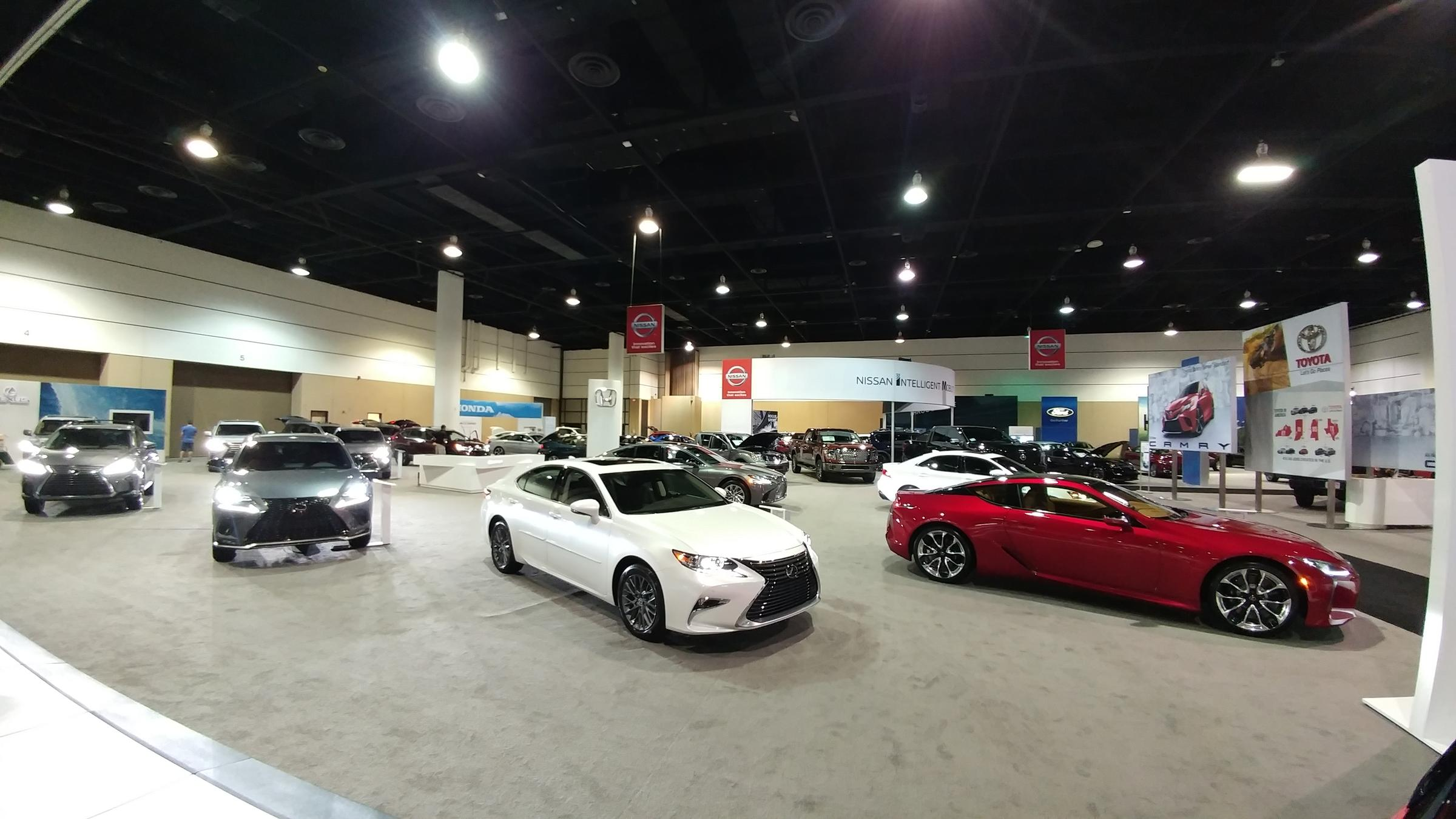 The Jacksonville International Auto Show Is Being Held At Prime Osborn Convention Center