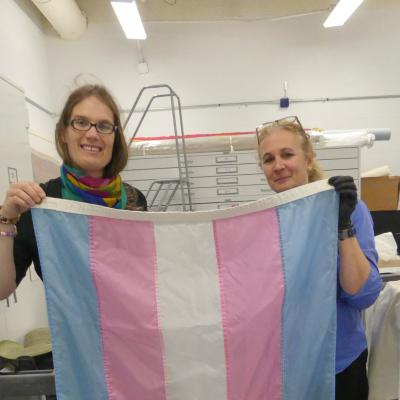 Meet The Creator Of The Transgender Flag: Monica Helms Of
