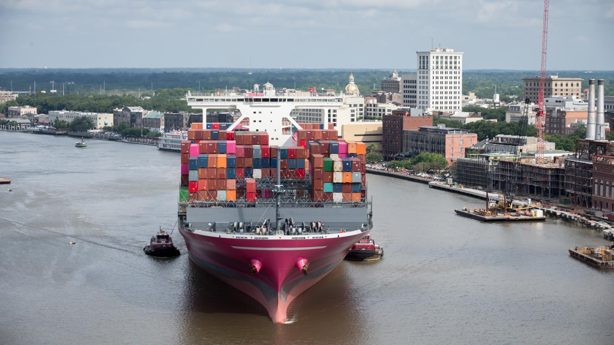 Why The Port of Savannah Has Been Smashing Trade, Revenue