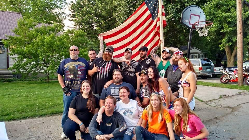 Protesters Show Up at Home of Hopkinsville Man Who Stepped on Flag