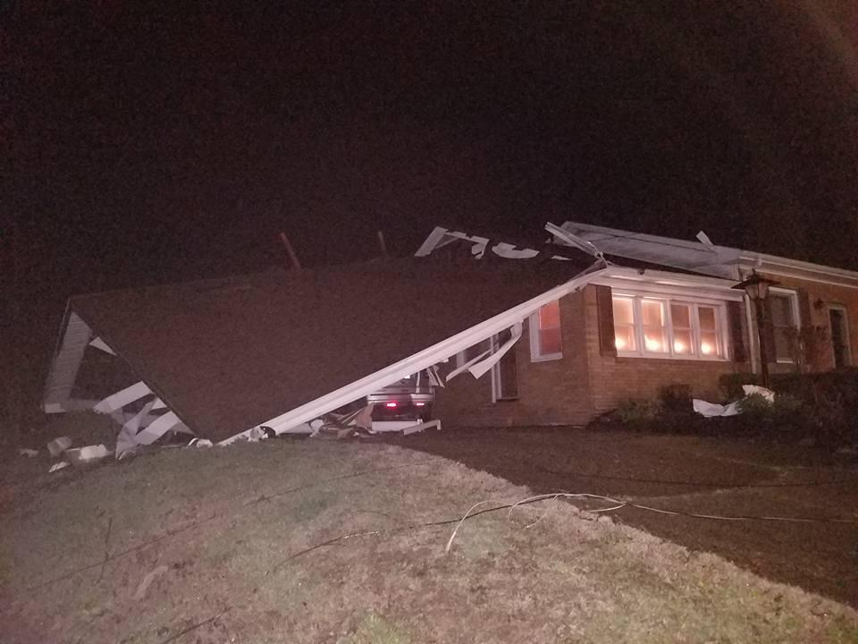 Update) NWS: Two Tornadoes in Fulton Co  Thursday Night, Hickman