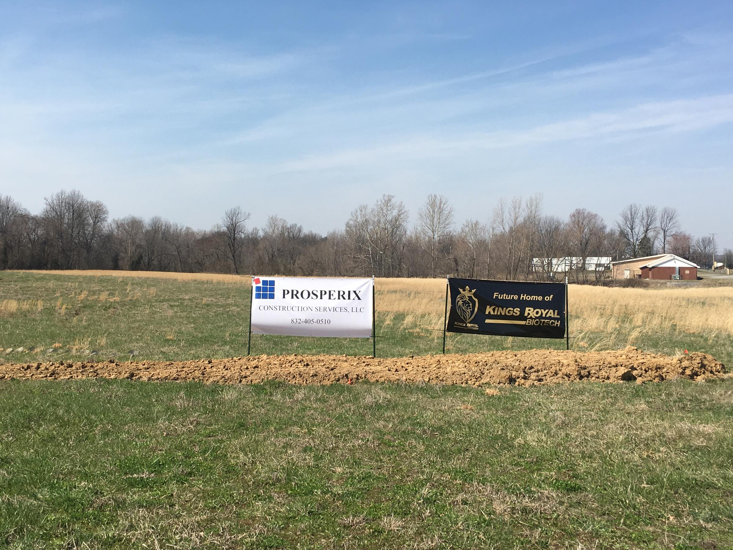 Hemp CBD Extraction Facility Breaks Ground in Carlisle County | WKMS