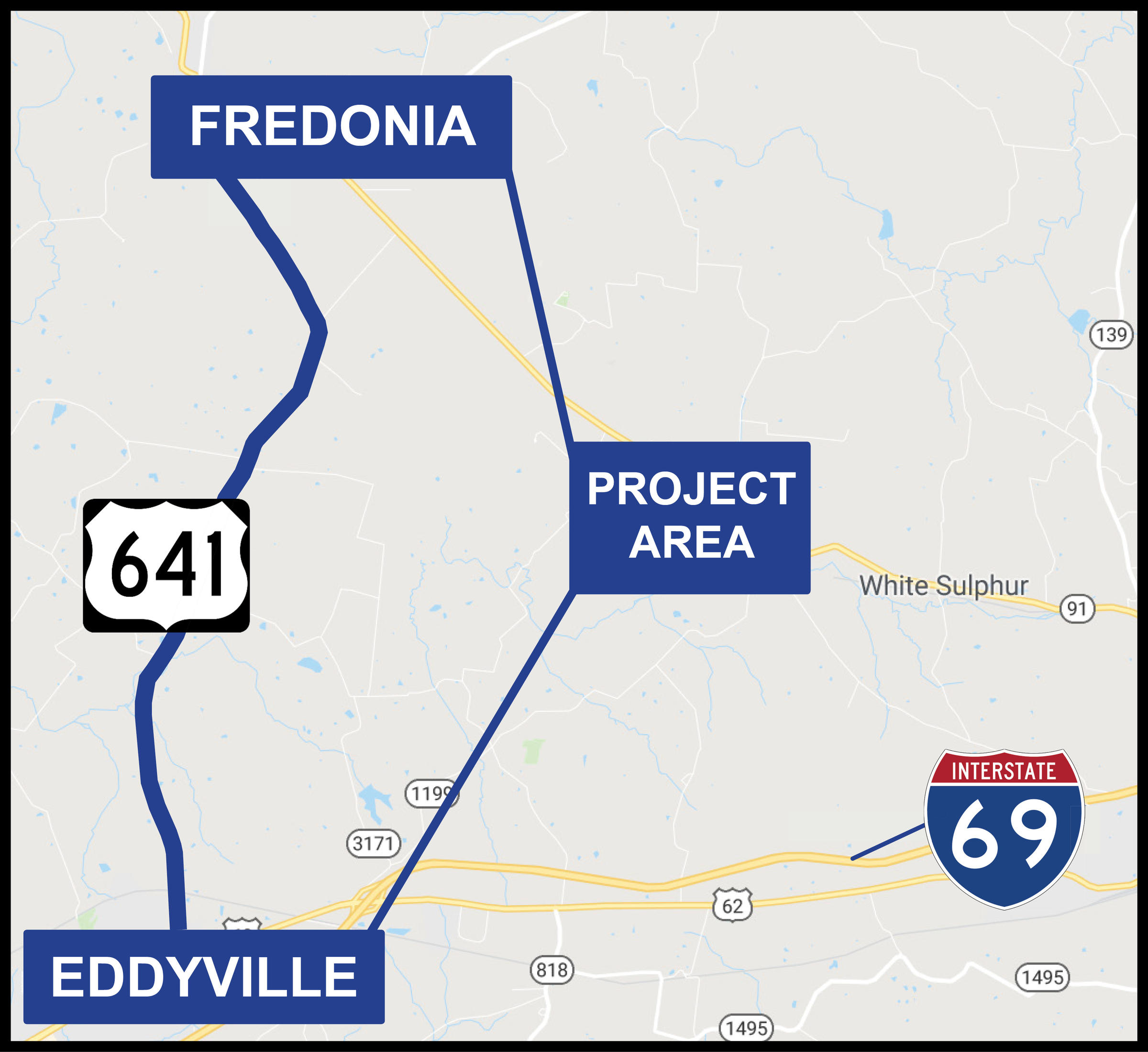 KYTC To Hold Meeting On Alt Route For U.S. 641 Between Fredonia And Kytc Maps on state of kansas highway patrol location maps, indiana department of natural resources maps, wyoming department of transportation maps, archived ohio road maps,