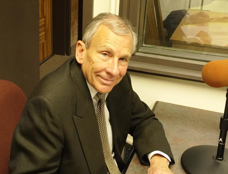 Tom Bernabei in the WKSU Canton bureau