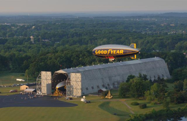 Goodyear's iconic blimp