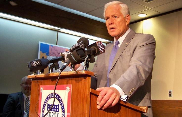 Former Akron Mayor Don Plusquellic