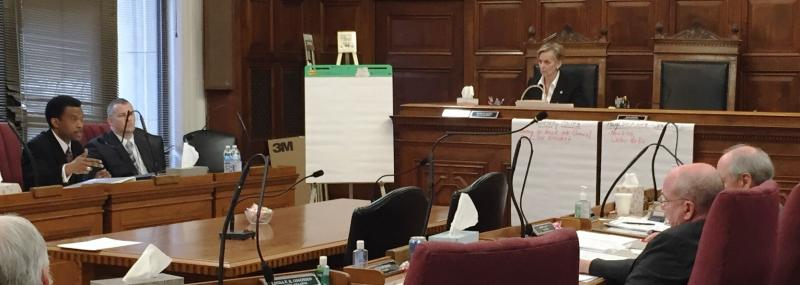 Akron City Council discussion of the budget process