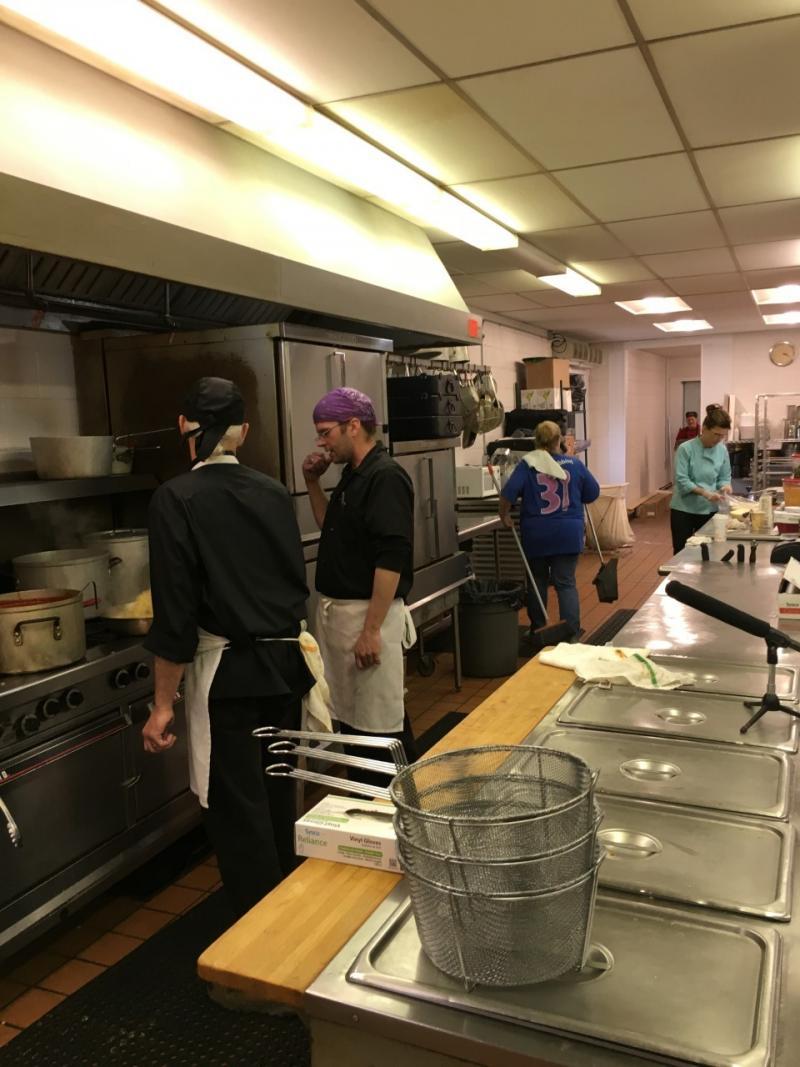 Picture of Agostino's kitchen