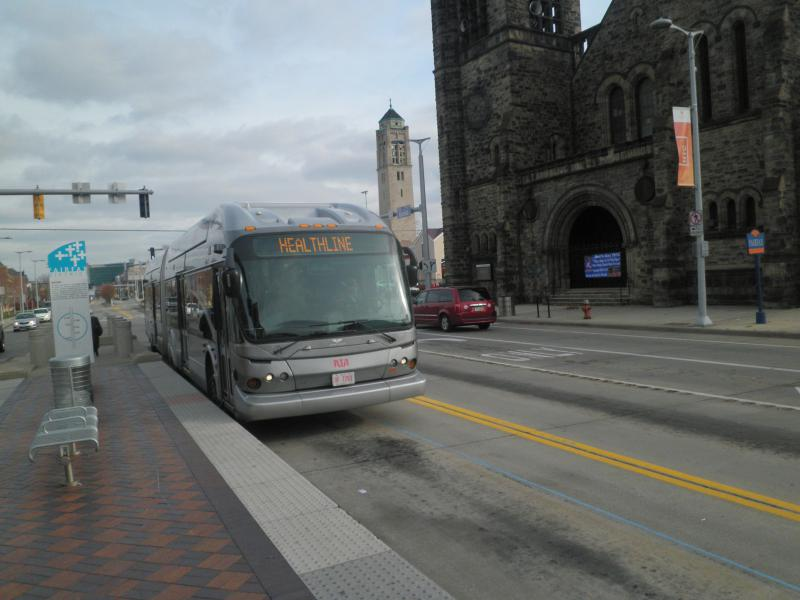 Picture of a Cleveland RTA bus