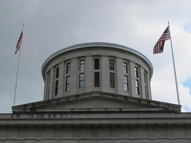 photo of Ohio Statehouse cupola