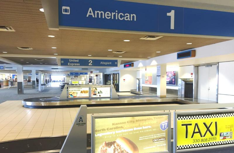 photo of Arrivals Area Akron Canton Airport