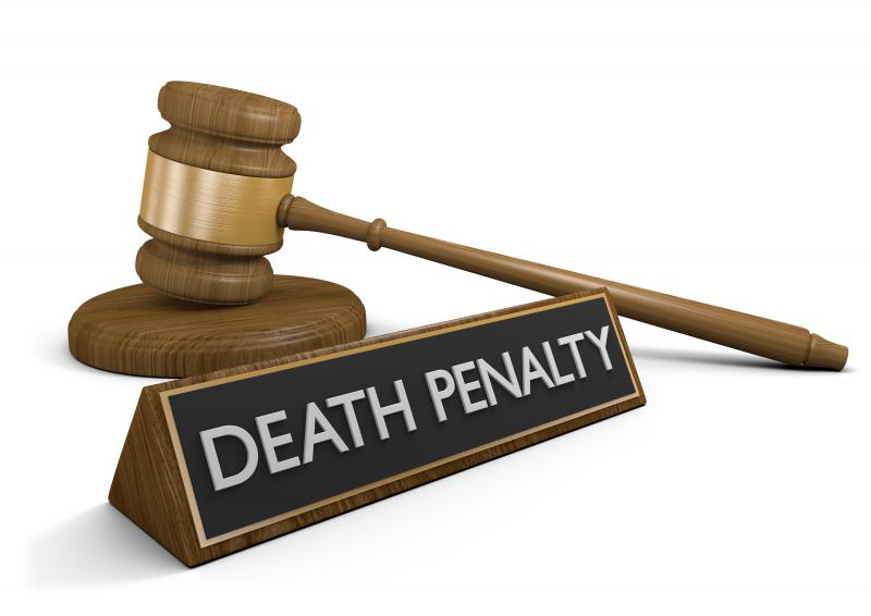 photo of death penalty gavel
