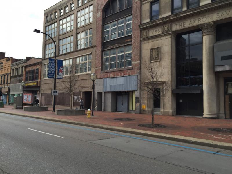 Landmark Building neighbors on Main Street