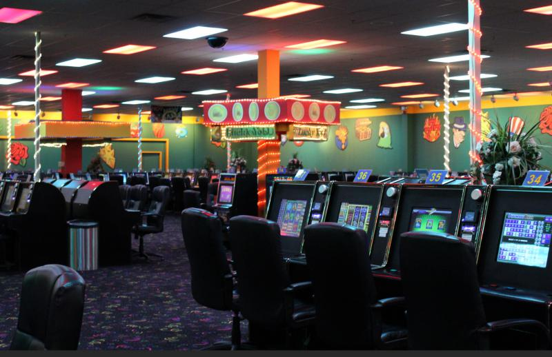 picture of the inside of Lucky You Games of Skill