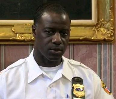 photo of cleveland police chief Calvin Williams