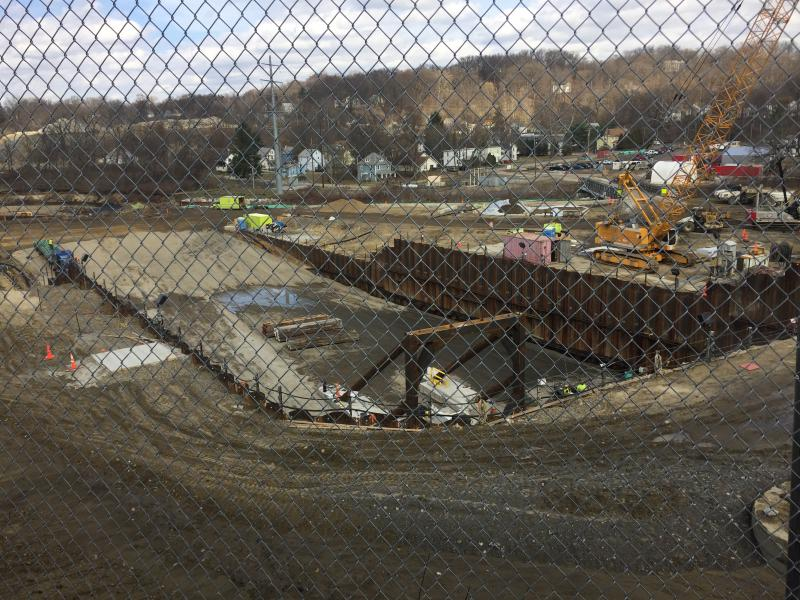 photo of Akron sewer project