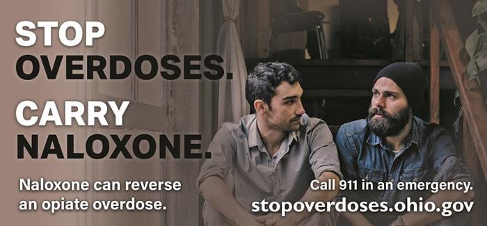 Ohio billboards were introduced last year to try to intervene in overdoses.