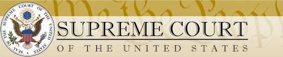 photo of US Supreme Court banner