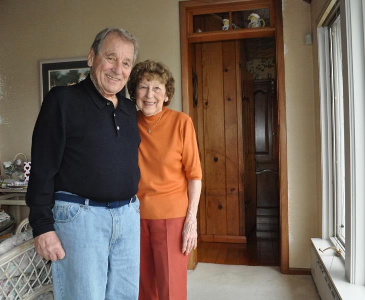 Ralph and Mary Regula